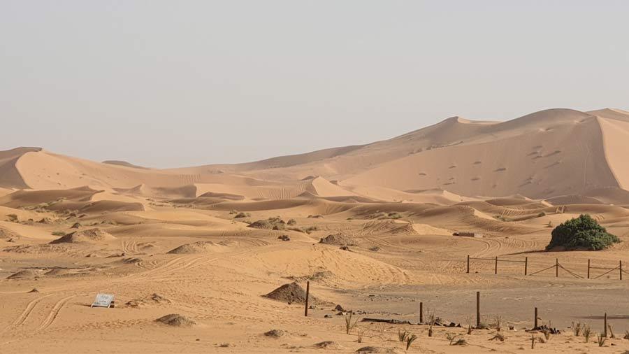 Merzouga, the Sahara
