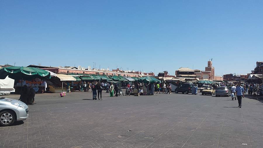 Marrakech - Jemaa el-Fna
